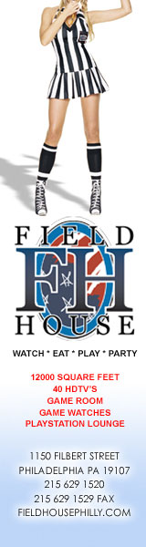 Click to visit The Field House - The Place to Watch all Philadelphia Sporting Events