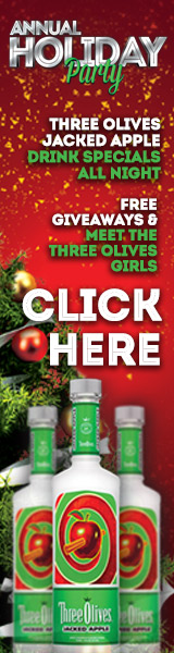 Three Olives Jacked Apple Holiday Party