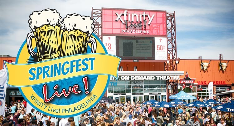 Springfest at Xfinity Live!