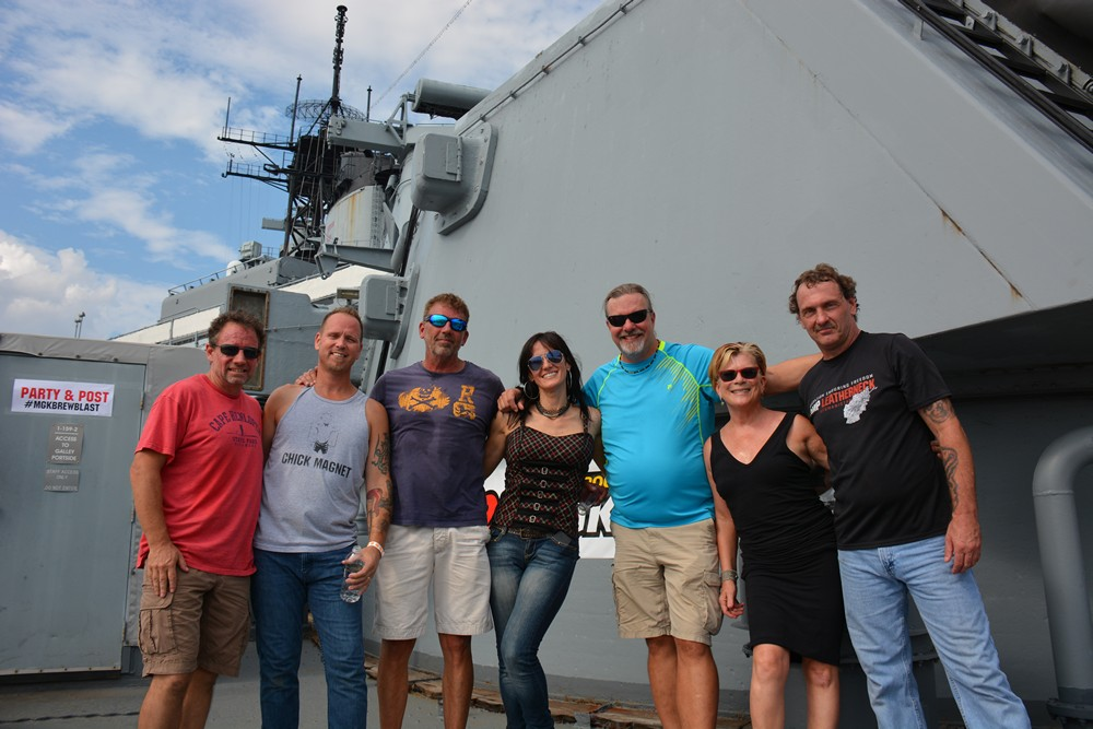 Photo from Brew Blast on the Battleship New Jersey