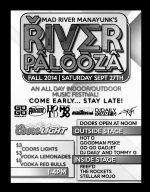Details on River Palooza Fall Edition - Manayunk Music Festival