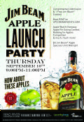Details on Jim Beam Apple Launch Party