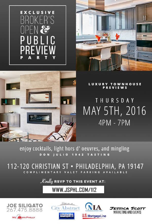 Exclusive Broker's Open & Public Preview Party