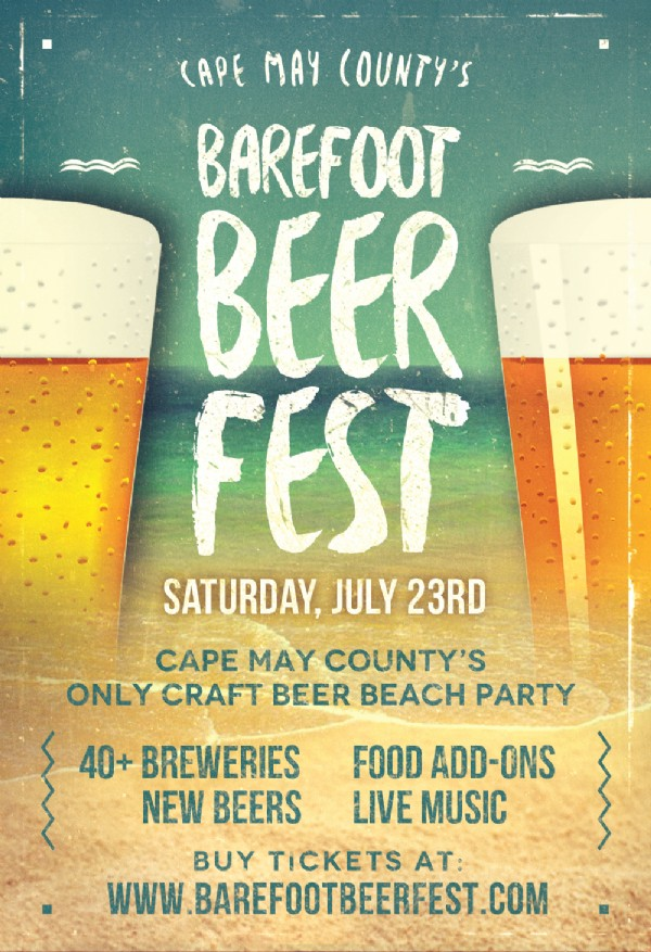 Cape May County Barefoot Beer Festival