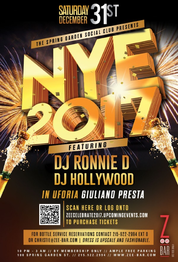 New Year's Eve - Celebrate 2017