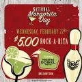 Details on National Margarita Day at Revolutions!