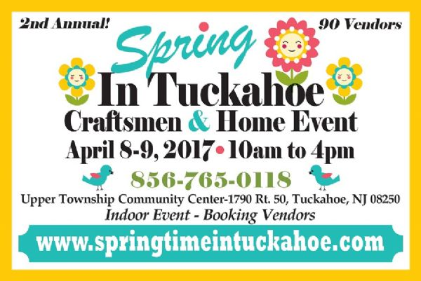 Spring In Tuckahoe Crafts & Home Event