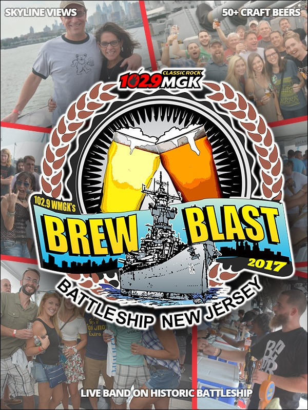 102.9 WMGK's 7th Annual Brew Blast on the Battleship