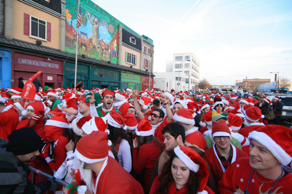 Running of the Santas MegaFest - Xfinity Live! & Field House
