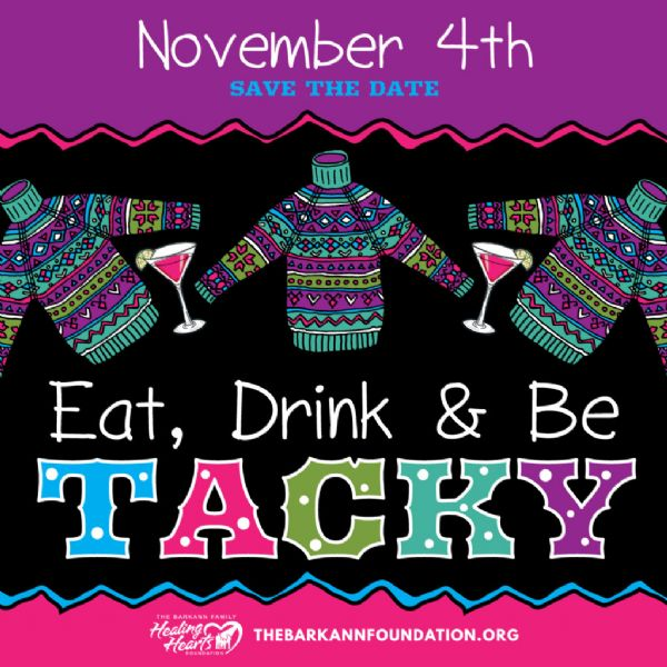 Eat, Drink, & Be Tacky