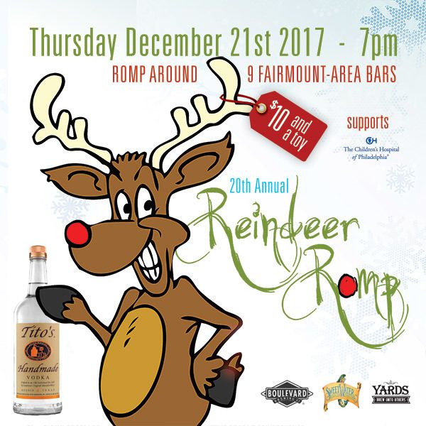 20th Annual Reindeer Romp in Fairmount