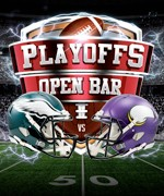 Details on Eagles vs Vikings Playoff Viewing Party - Paddy Whacks South Street