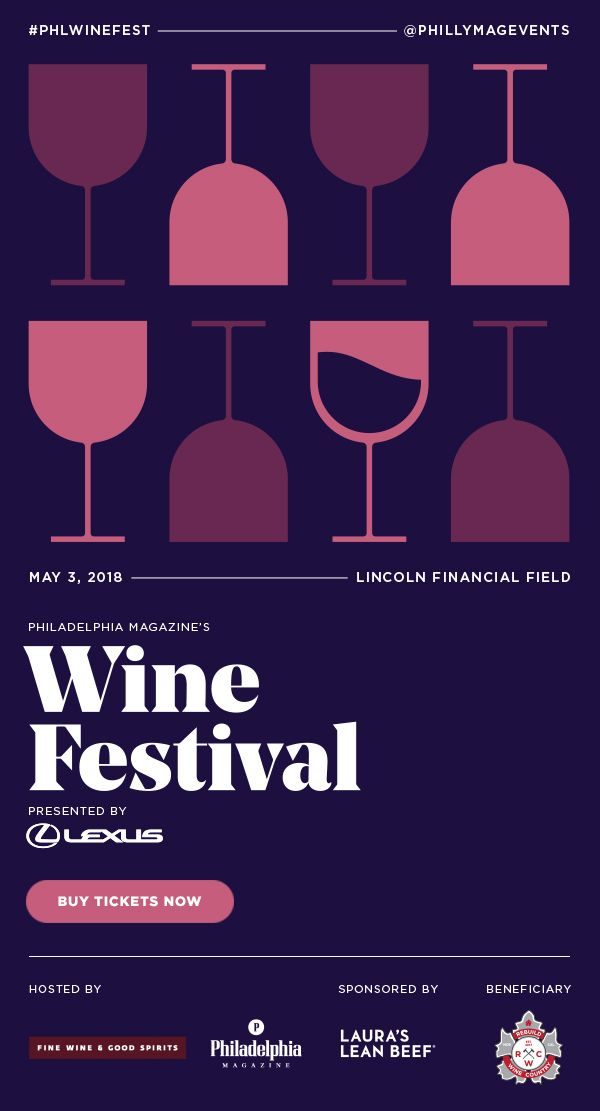 Philadelphia Magazine's Wine Festival presented by Lexus