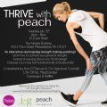 Details on THRIVE with Peach