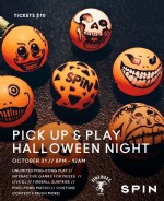 Details on Halloween Night @ SPiN