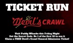 Details on Paddy Whacks Free RSVP Event - WIN DEVIL'S CRAWL TICKETS
