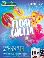 Details on FloatChella @ Maggie's Waterfront Cafe