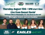 Details on Eagles Game Watching Party at Sunset Social