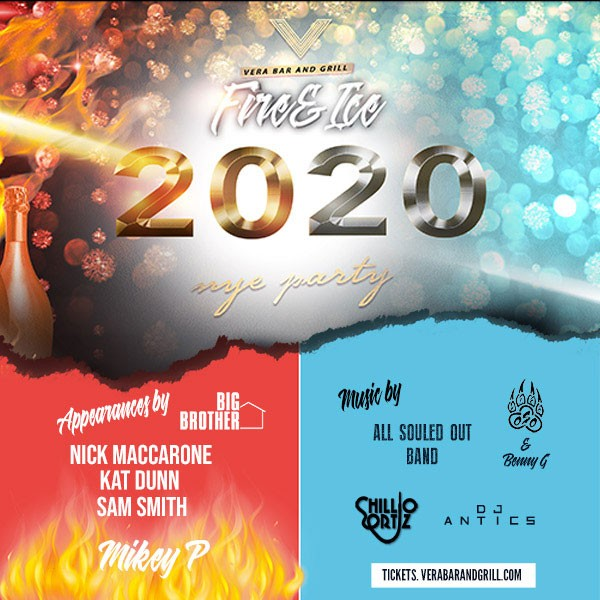 Fire & Ice NYE 2020 at Vera Cherry Hill