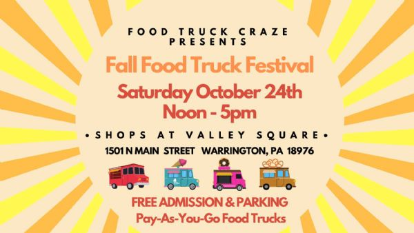 Details on The Shops at Valley Square Fall Food Truck Festival