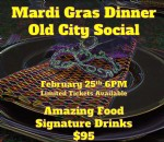 Details on Bala Rouge Presents Mardi Gras Dinner @ Old City Social