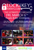 Details on March 6th South Jersey Lock and Key Singles Event!