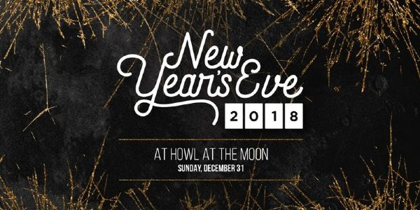 New Year's Eve 2018 at Howl at the Moon Pittsburgh